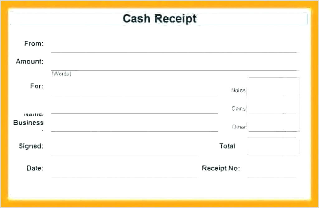 Down Payment Receipt form Car Deposit Receipt Template Free Admirable 7 Sample Payment