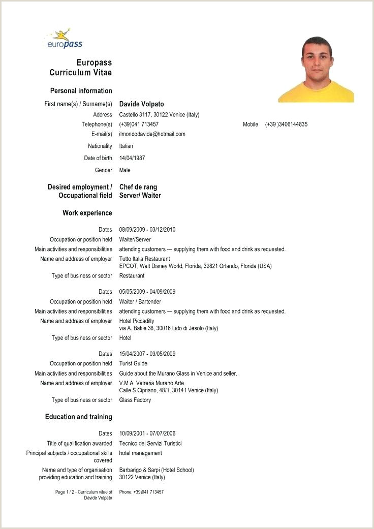 Download Europass Cv format Romana Cv Template Europass – Metabots