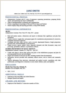 Expert Preferred Resume Templates Basic & Simple