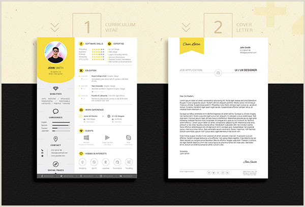 50 Free Resume CV Template In shop PSD Format For