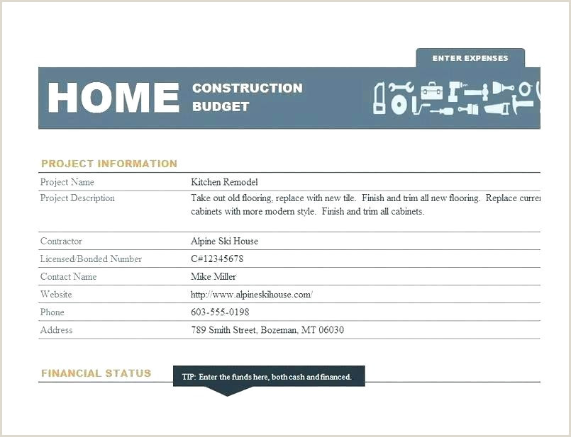 Draw Schedule Template Home Construction Schedule Template