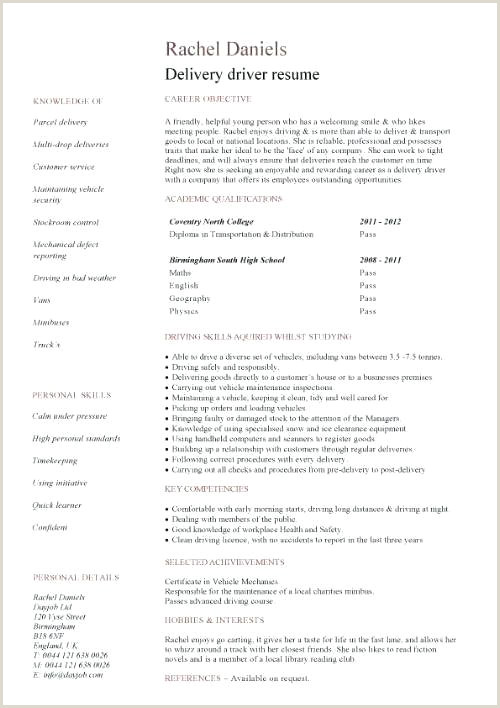 Driver Resume Examples Driver Resume Samples – Growthnotes
