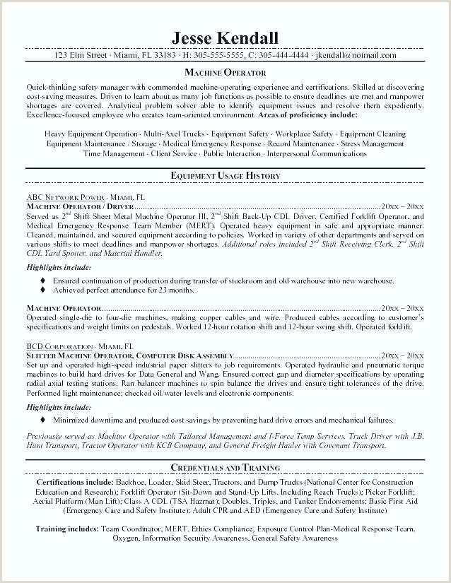 Driver Resume Examples forklift Resume Sample – Growthnotes