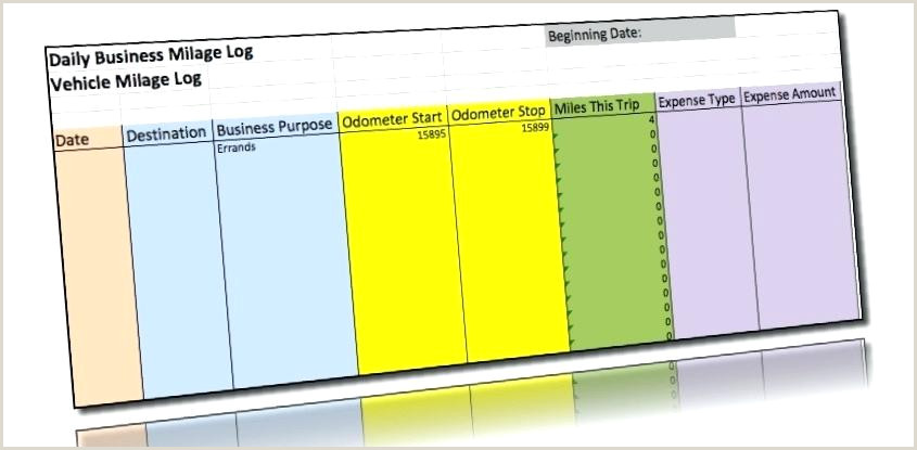 Driving Log Template Free Mileage Log Template for Excel Service Call