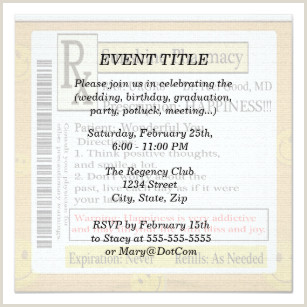 Easter Potluck Invitation Wording Funny Pms Invitations & Stationery