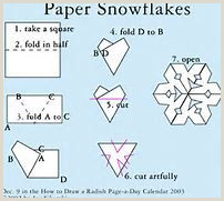 Easy Paper Snowflakes for Kindergarten How to Make A Snowflake Out Of Paper Bing