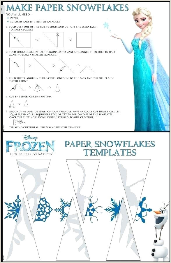How To Make Paper Snowflakes Get Our Free Templates