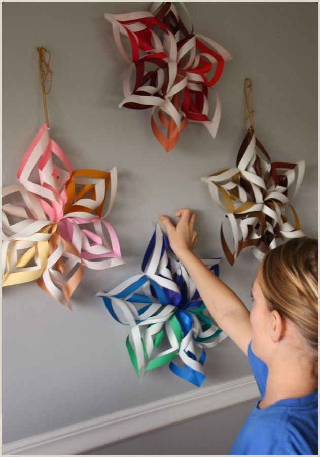 Easy Paper Snowflakes For Kindergarten Pin On Art Ideas