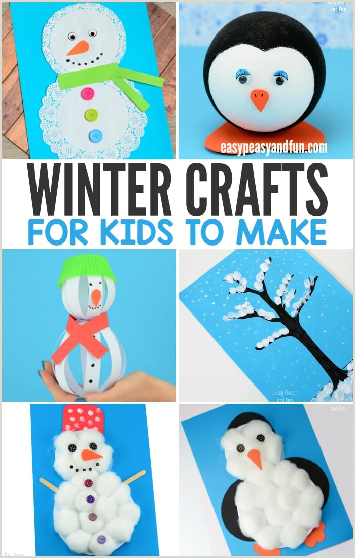 Easy Paper Snowflakes for Kindergarten Winter Crafts for Kids to Make Fun Art and Craft Ideas for