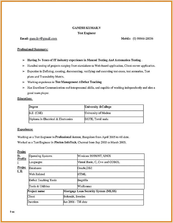 Electrical Engineer Resume Objective Free Electrical