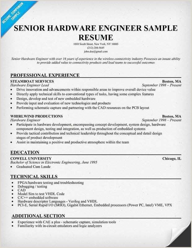 Ec Engineer Resume software Developer Resume Example Best Optical Test Engineer