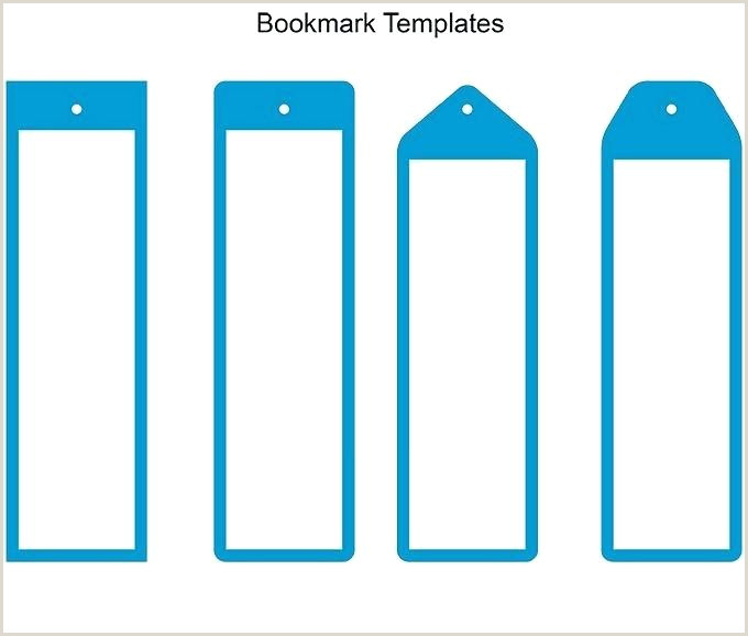 Editable Bookmark Template Blank White Bookmark Printable Download Free Editable