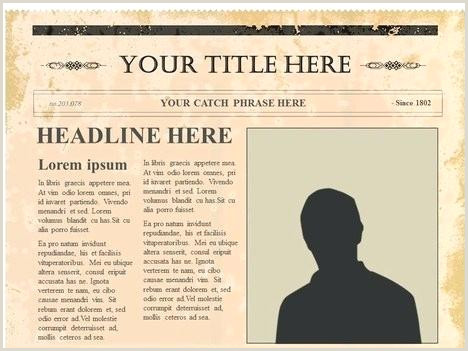 Google Docs Old Newspaper Template By Templates Editable