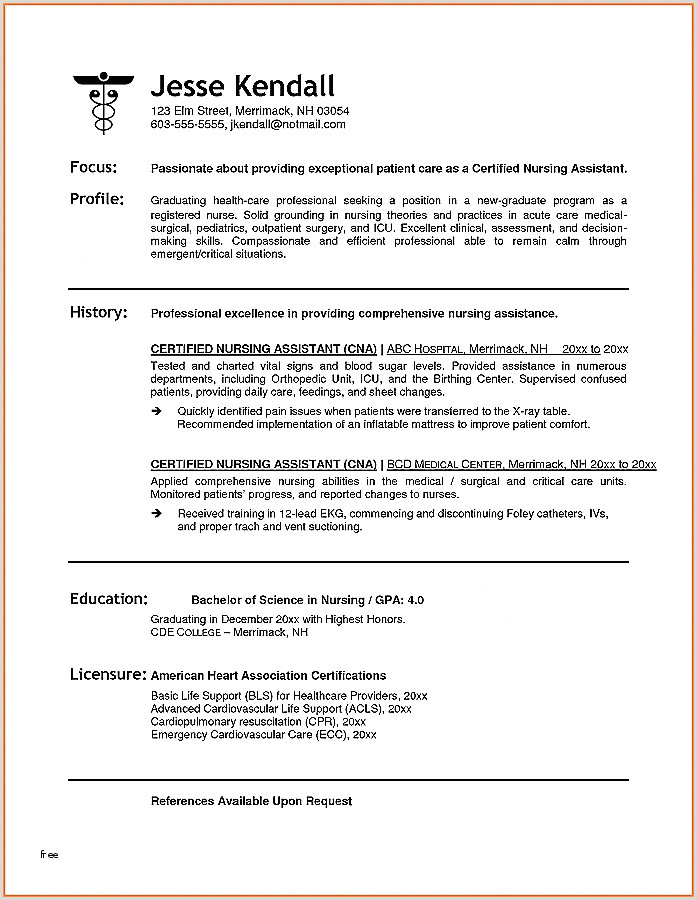 Education and Certifications On Resume Limited Nursing Skills Resume Sample Resume Design