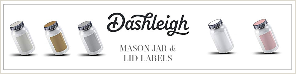 40 Printable Blank Mason Jar and Lid Labels Kraft for Inkjet and Laser Printers for Gifts Pantry Kitchen and Organization