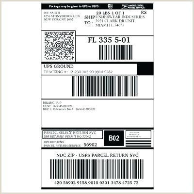 Ups Shipping Label Template Word Awesome Packing Amazon Slip