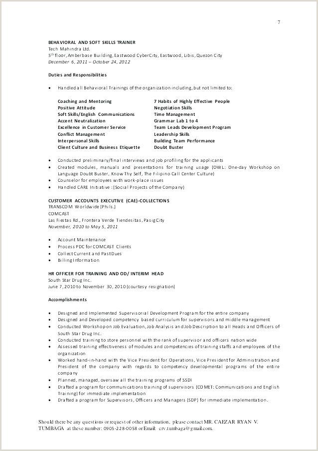 section leader sample resume – podarki