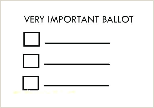 Election Ballot Template for Kids Student Council Ballot Template – Gdwebapp