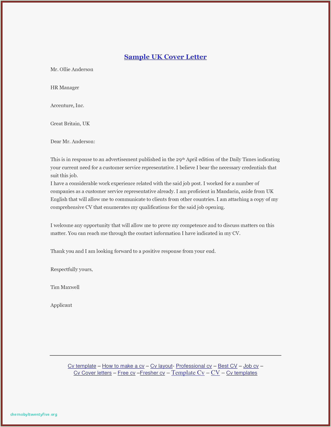 Electronic Cover Letters are Longer Than Traditional Paper Cover Letters. 10 Electronic Cover Letter Sample
