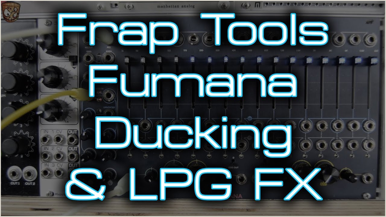 Frap Tools Fumana Sidechain pression Ducking & LPG Style Functions
