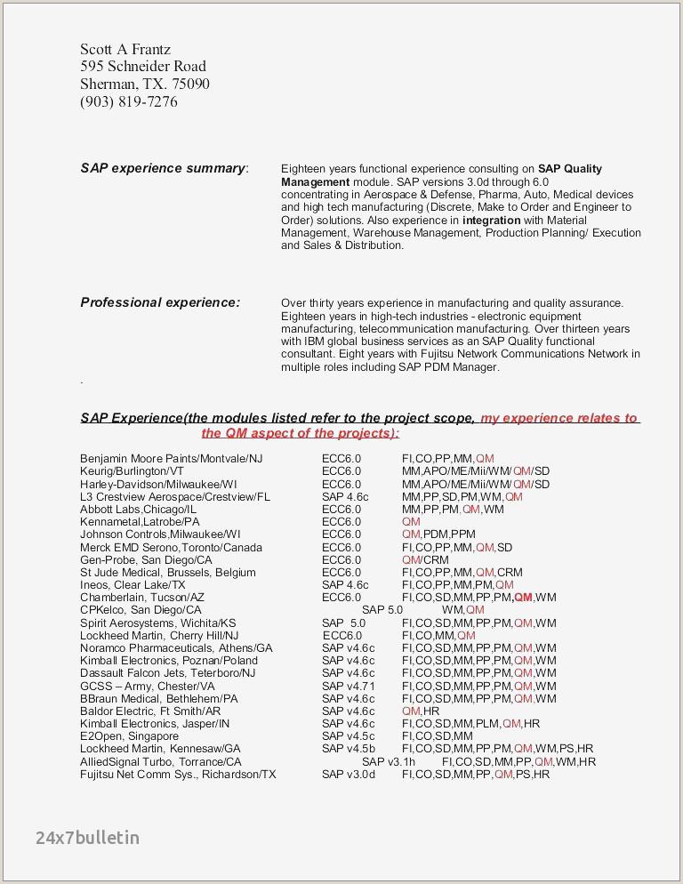 Electronics Technician Resume Sample Inspirational Electronic Technician Resume Sample