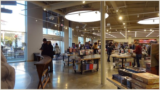 The store has an elegant clean and open design Beautiful