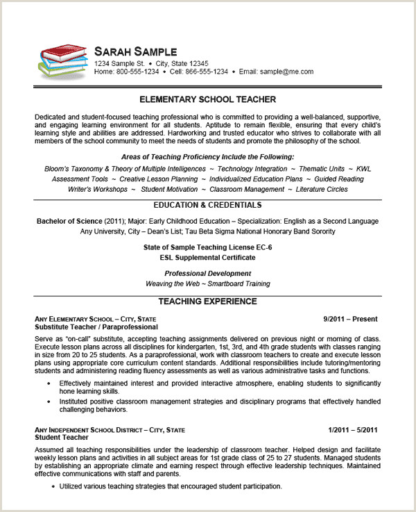 Samples Application Letter For Teaching Job In Primary
