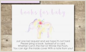 Elephant Template for Baby Shower Fall Baby Shower Invitation Templates