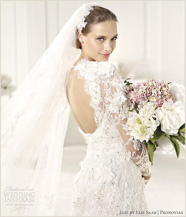 Elie Saab Wedding Dress Rental Wedding Dresses Elie Saab Cowl Neck Beaded Wedding Dress by