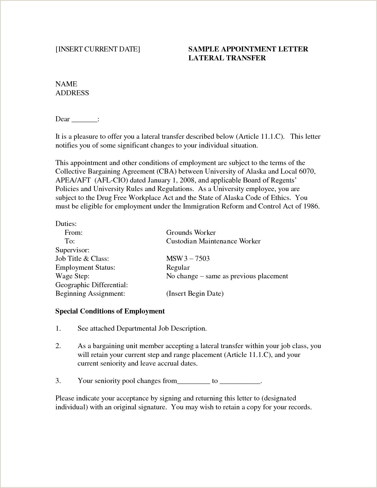 Free Cover Letter Review