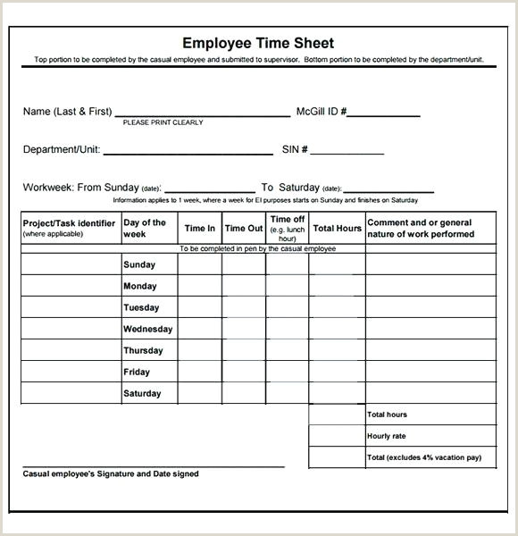 Employee Timesheet Template Word Sample Daily Templates Free Template Monthly Timesheet Word