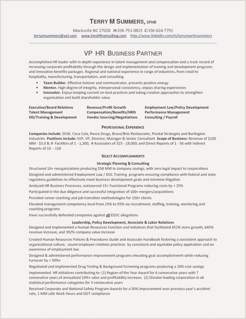 Sample Resume Employment Lawyer New In House Employment