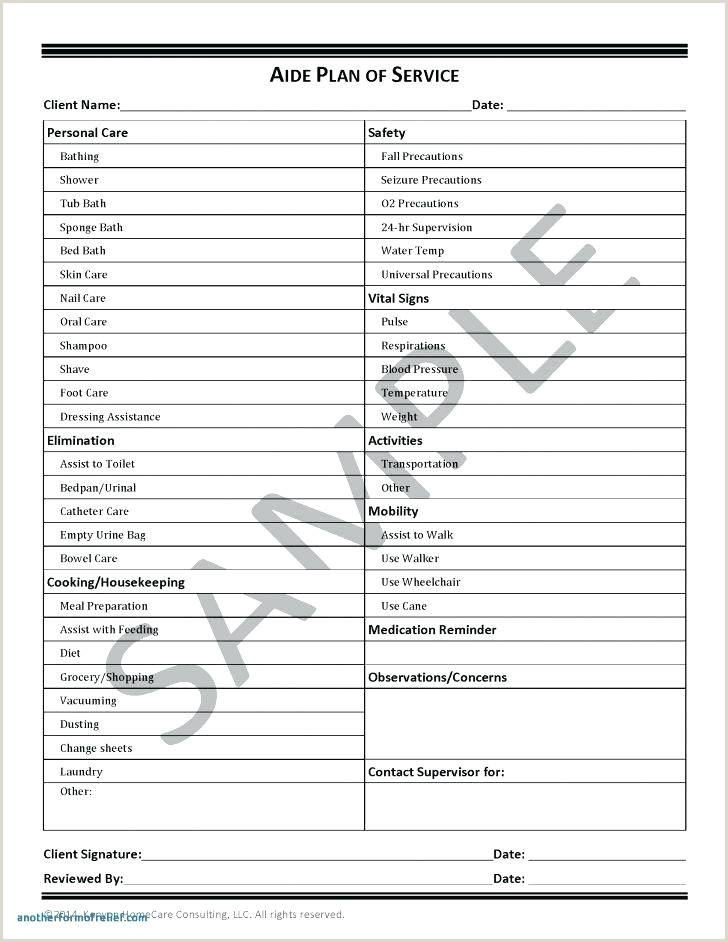 Medical Documentation Templates Medication Template For Word