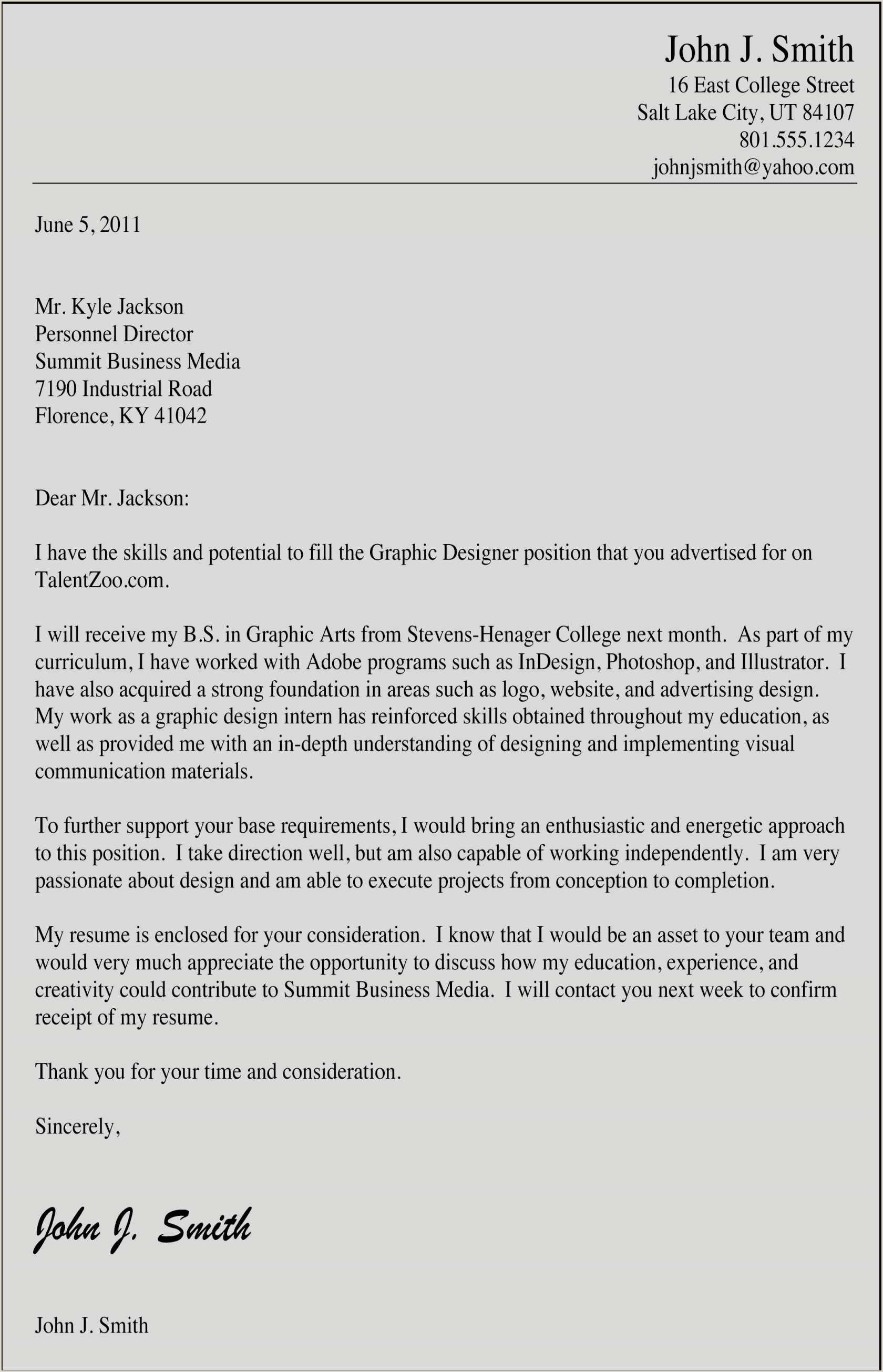 Unique How To Make A Cover Letter