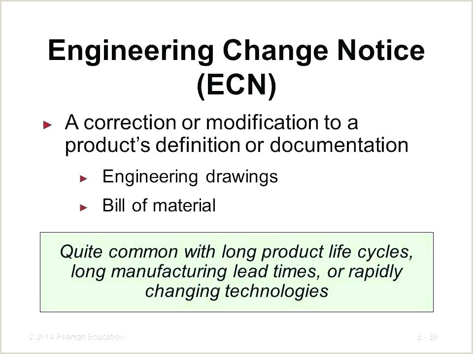 Engineering Change order Template Excel Engineering Change Notice Template Change Request Template