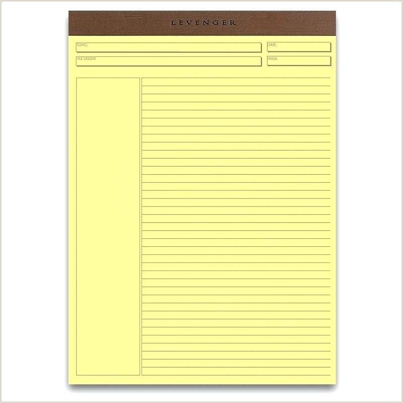 Legal Pad Template Pad Paper Template Yellow Legal Pad