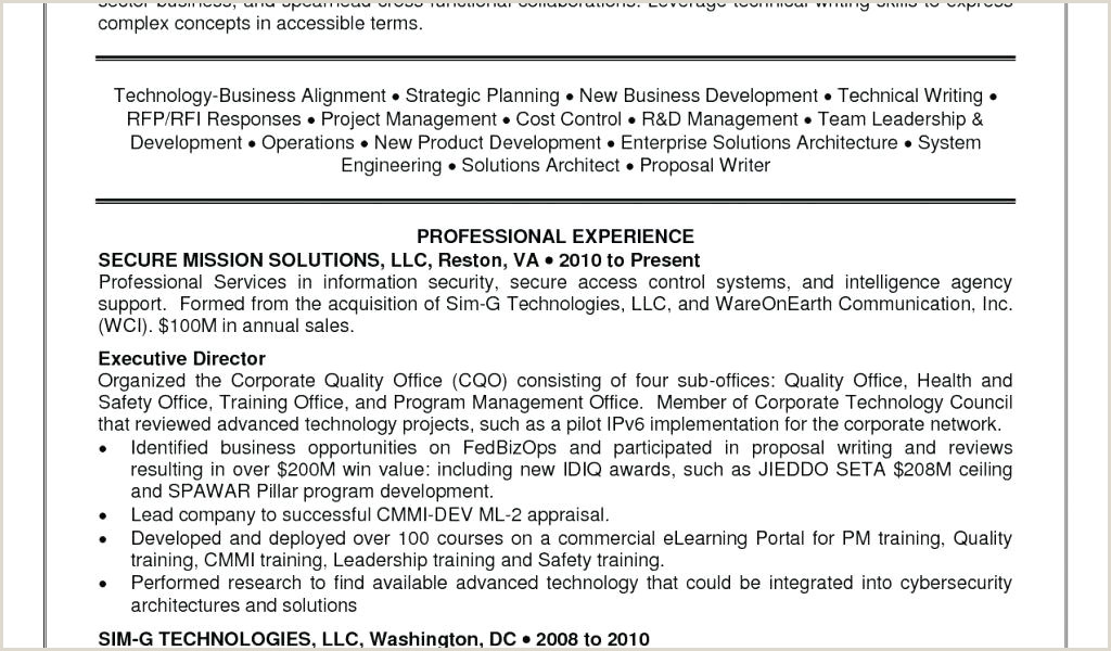 Solution Architect Resume And Enterprise Architecture
