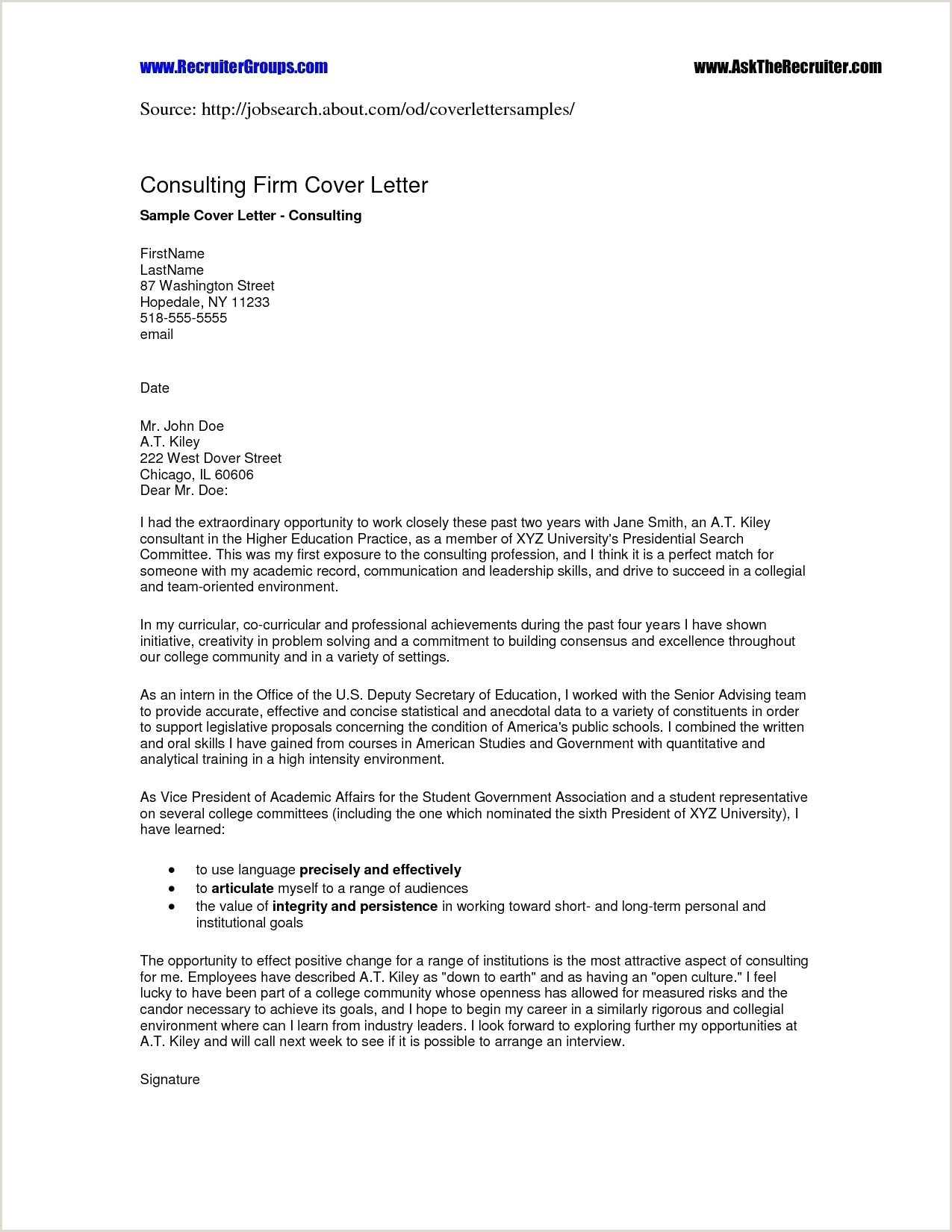 Proof Employment Letter Template Examples