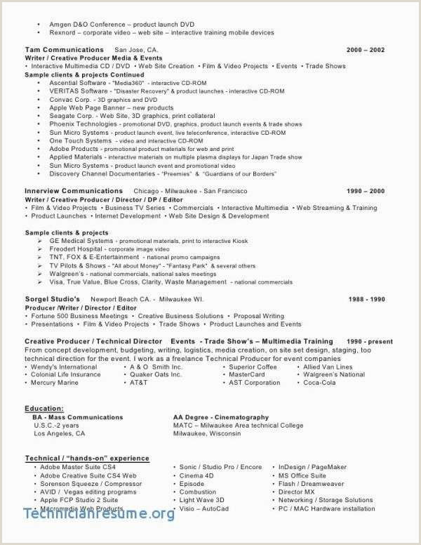 Entertainment Resume Samples Entertainment Resume Inspirational Resume Movie theater