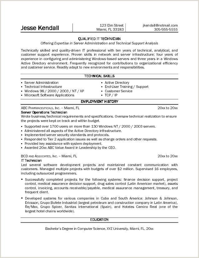 Esthetician Resume