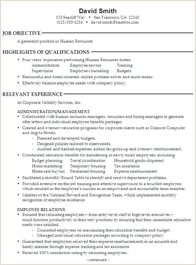 Entry-level Hr Generalist Resume Sample Human Resources Generalist Resume – Emelcotest