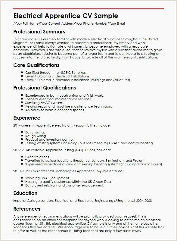 Awesome Entry Level Lineman Resume – 50ger