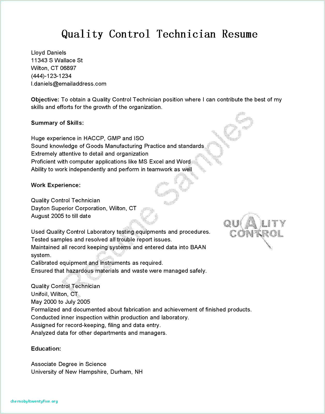 Entry Level Hvac Technician Resume December 2018 – Mary Jane social Club