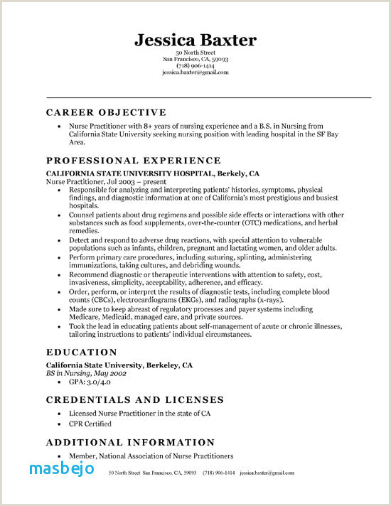 Entry Level Nurse Practitioner Resume 34 Examples Professional Resumes for Nurses