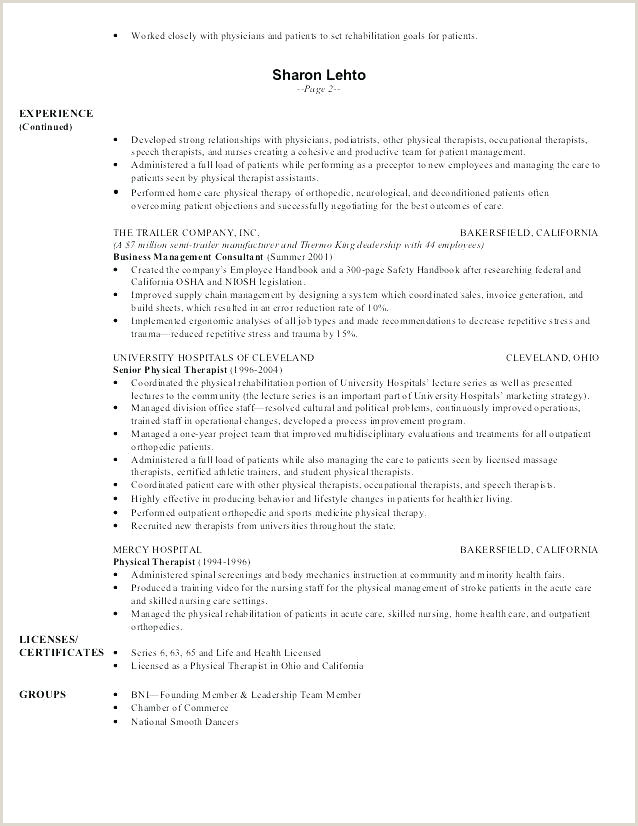 physical therapy resume template – amartyasen