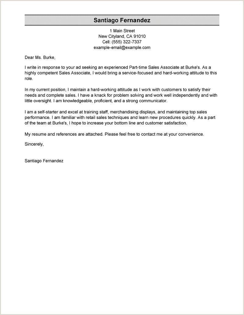 Research Assistant Cover Letter No Experience