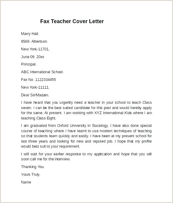 Entry Level Substitute Teacher Cover Letter Free Sample Cover Letter Template for Teachers Aide English