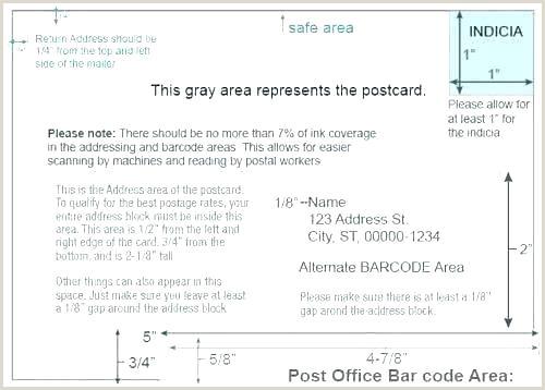 Envelope Printing Google Docs Standard Postcard Size Template