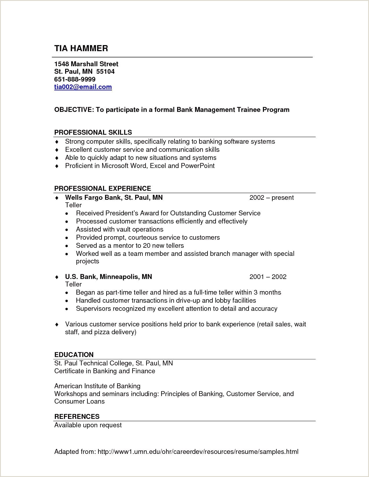 Environmental Services Resume Sample Unique format Resume