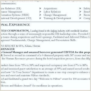 Hotel General Manager Cover Letter New Sample Cover Letter